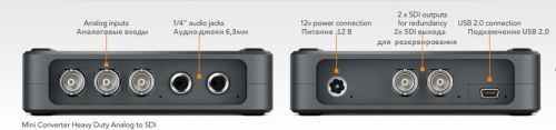 blackmagic design HD analog to SDI