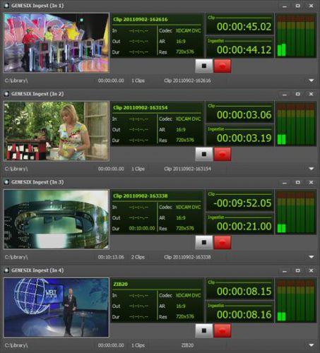 Stryme Genesix - универсальные многоканальные серверы вещания и