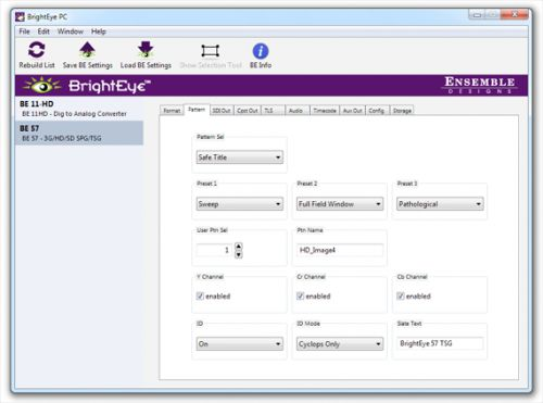 BrightEye PC software