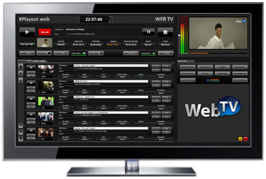 Axel xTV playout web