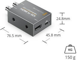 blackmagic micro-converter hdmi to sdi