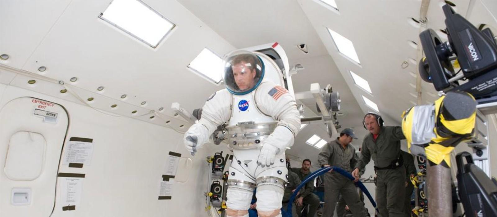 Космический центр имени Джонсона использует системы Vicon для тестирования скафандров и космических транспортных средств