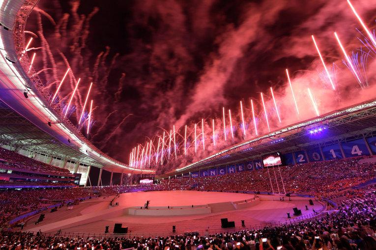 Азиатские игры 2014 в Инчхоне