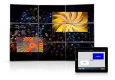 Программное обеспечение управление видеостеной для iPad