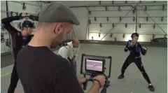 Демонстрация MoCap процеса с Vicon Virtual Camera 3