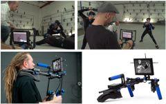 Демонстрация MoCap процесса и работы с виртуальной камерой