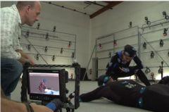 Демонстрация MoCap процесса с Vicon Virtual Camera 2