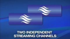 Matrox monarch HDX - стриминг двух независимых каналов