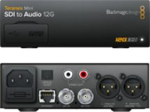 Blackmagic Teranex Mini - SDI to Audio 12G