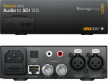 Blackmagic Teranex Mini - Audio to SDI 12G