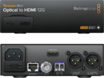 Blackmagic Teranex Mini - Optical to HDMI 12G