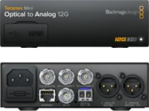 Blackmagic Teranex Mini - Optical to Analog 12G