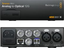Blackmagic Teranex Mini - Analog to Optical 12G
