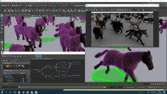 Интегрированный рабочий процесс для меха на деформируемых персонажах (совместим со всем основным ПО для меха). Learn more on http://fur.golaem.com