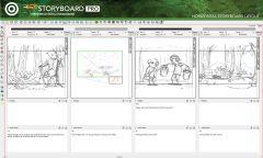 Toom Boom StoryBoard Pro - Интерфейс 7