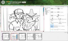 Toom Boom StoryBoard Pro - Интерфейс 9