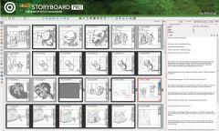 Toom Boom StoryBoard Pro - Интерфейс 11