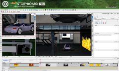 Toom Boom StoryBoard Pro - Интерфейс 1