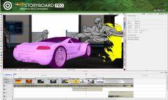 Toom Boom StoryBoard Pro - Интерфейс 2