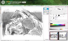 Toom Boom StoryBoard Pro - Интерфейс 3
