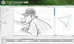 Toom Boom StoryBoard Pro - Интерфейс 5