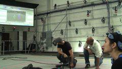 Работа в MoCap студии с Vicon Blade