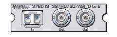 Ensemble Designs Avenue 3760 3G/HD/SD/ASI Optical to Electrical Converter