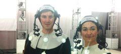 Актёры в шлемах Vicon Cara