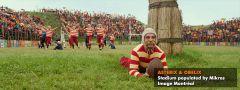 Симуляция скопления зрителй на стадионе с помощью Golaem crowd в фильме Астерикс и Абеликс Golaem crowd
