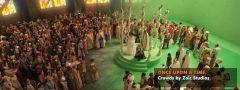 Симуляцмя толпы в фильме Once upoe a time c помощью Golem Crowd